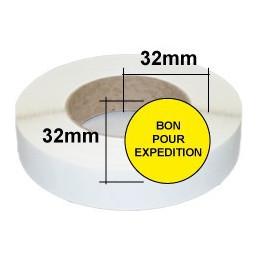 Etiquettes BON POUR EXPEDITION