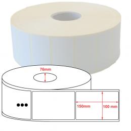 Etiquettes papier velin 100x150mm