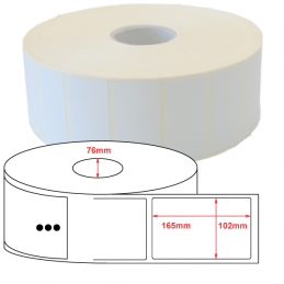 Etiquettes Thermique Eco 102x165mm