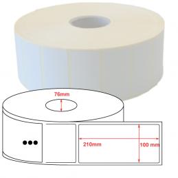 Etiquettes Thermique Eco 100x210mm