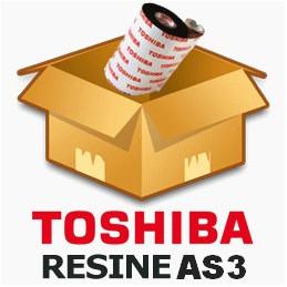 Ruban TOSHIBA résine 68mmx600m AS3 - Imprimante B-EX4T1 / B-SX5
