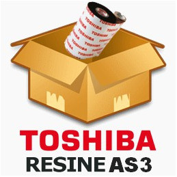 Ruban TOSHIBA résine 55mmx600m AS3 - Imprimante B-EX4T1 / B-SX5