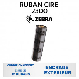 Ruban Cire 2300 84mmx74m -...
