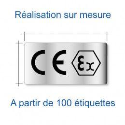 Etiquette CE sur mesure