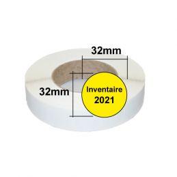 Etiquettes inventaire 2021