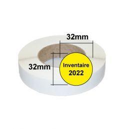 Etiquettes inventaire 2022