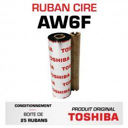 Ruban AW6F TOSHIBA 110mmx100m