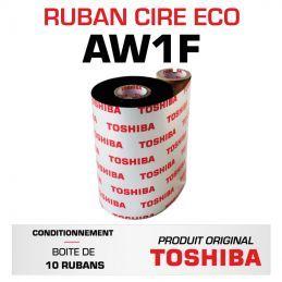 Ruban cire AW1F TOSHIBA 60mmx300m