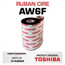 Ruban cire AW6F TOSHIBA 110mmx300m