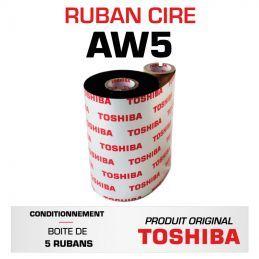 Ruban AW5 TOSHIBA 160mmx300m