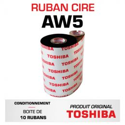 Ruban AW5F TOSHIBA 110mmx600m