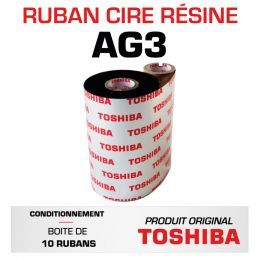 Ruban AG3 TOSHIBA 83mmx450m