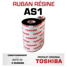Ruban AS1 TOSHIBA 114mmx600m