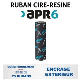 Ruban INKANTO APR6 65mmx74m - Imprimantes ZEBRA