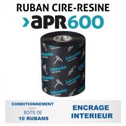 Ruban INKANTO APR600 110mmx600m - Imprimantes AVERY