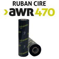 Ruban Cire AWR470 1/2 pouce