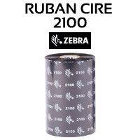 Ruban Cire 2100 pour imprimante ZEBRA