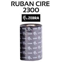 Ruban Cire 2300 pour imprimante ZEBRA