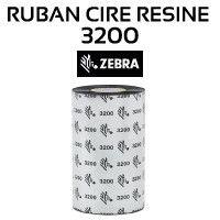 Ruban Cire-Résine 3200 pour imprimante ZEBRA