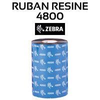 Ruban Résine 4800 pour imprimante ZEBRA