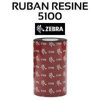 Ruban Résine 5100 pour imprimante ZEBRA