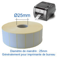 Diamètre mandrin 25mm