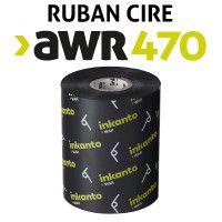 Ruban Cire AWR470 pour imprimante ZEBRA