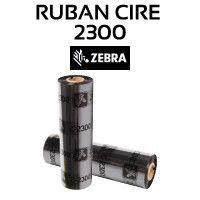 RUBAN CIRE 2300 1/2 POUCE POUR ZEBRA