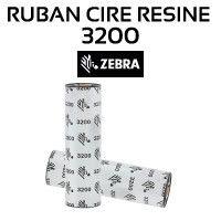 RUBAN CIRE-RESINE 3200 1/2 POUCE POUR ZEBRA