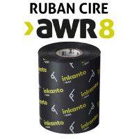 Ruban cire AWR8 pour imprimante INTERMEC