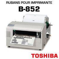 Rubans pour imprimante TOSHIBA B-852