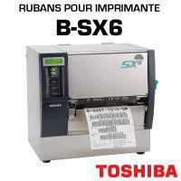 Rubans pour imprimante B-SX6