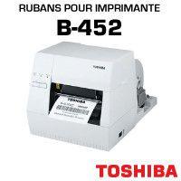 Rubans pour imprimante TOSHIBA B-452