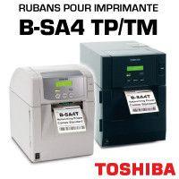 Rubans pour imp TOSHIBA B-SA4 TP/TM