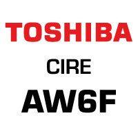 Ruban cire AW6F pour B-SA4  BA410 BA420