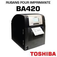 Rubans pour imprimante TOSHIBA BA420